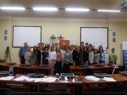 Всі учасники Міжнародної літньої школи