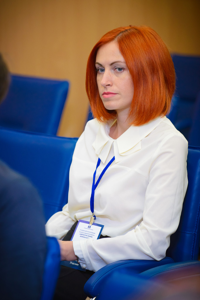 "Адвокат, партнер адвокатського об'єднання ""Адвокатська сім'я Лисенко"" Ганна Лисенко"